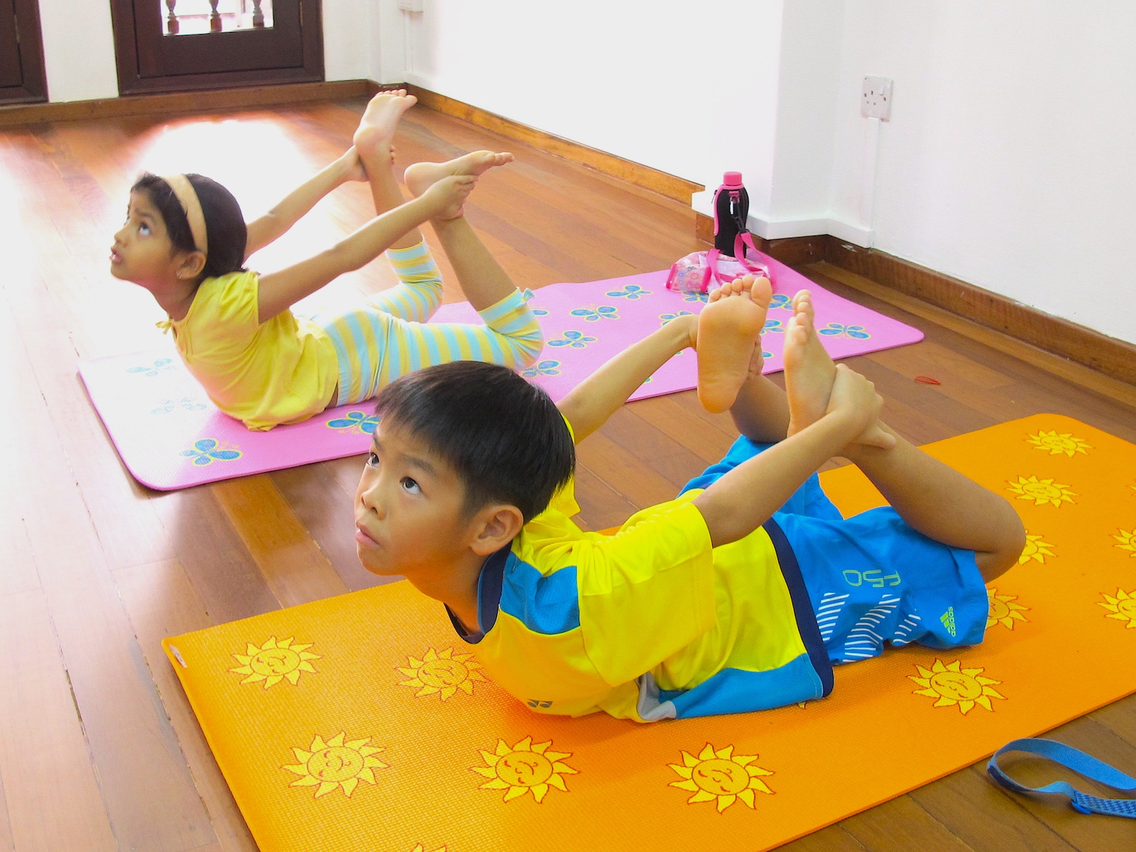 Physical Fitness Tied To Kids Academic >> Kids Yoga Course