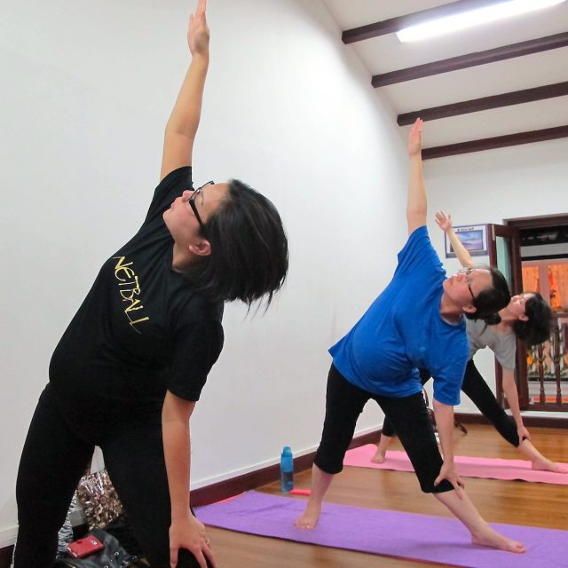 Prenatal Yoga Singapore | Pregnancy Yoga | OhmSantih